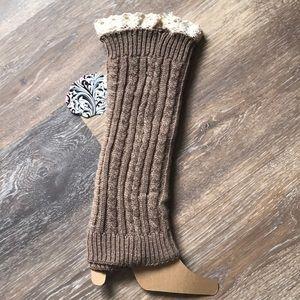 🌺 NWT 👢 Boot Cuff Leg Warmers